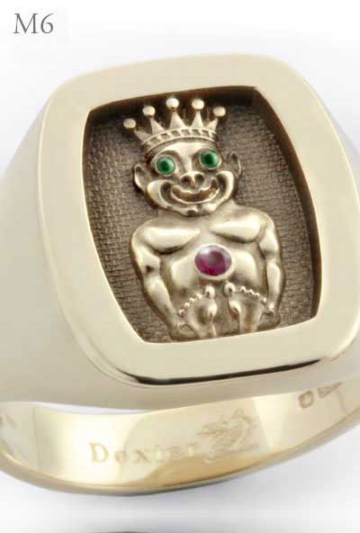 Jesters Billiken Ring