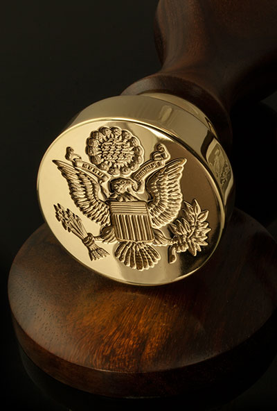 Great Seal of USA Desk Seal