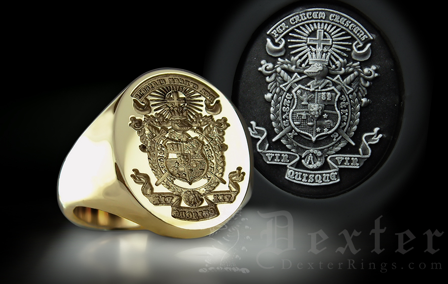 club or fraternity seal lambda ring chi team rings