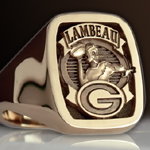 Green Bay Packers Ring - Lambeau