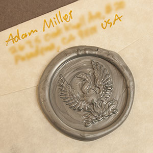 Calligraphy & Wax Seal Letter - Phoenix