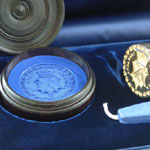 Vatican Desk Seals in Blue Presentaion Box