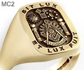 Ring Includes Past Master & Motto