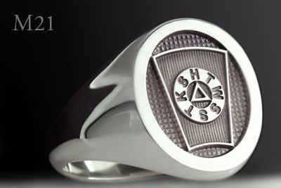 Masonic Mark Degree Ring