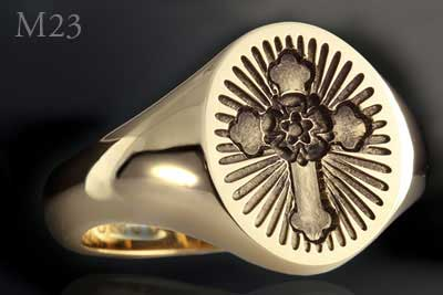 Rosicrucian Seal Ring