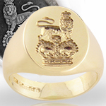 Royal Crest Signet Ring