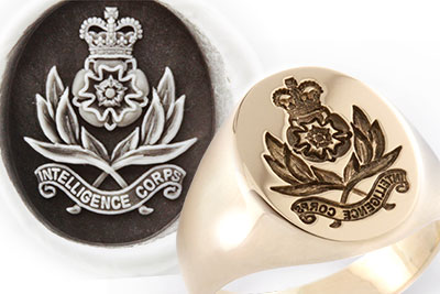 Royal Intelligence Corps Signet Ring