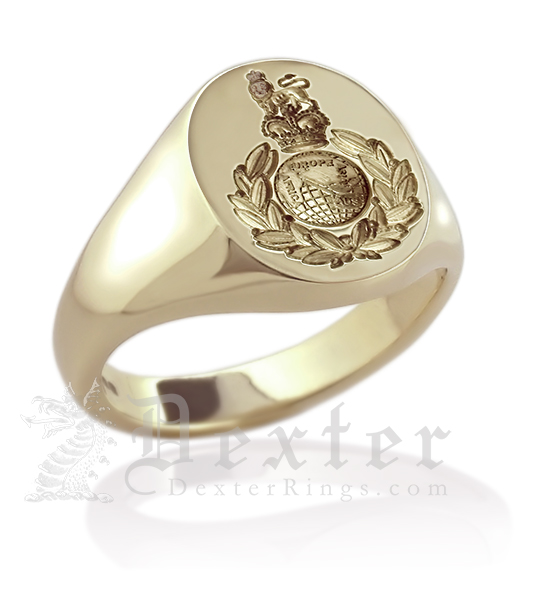 Royal Marines Signet Ring