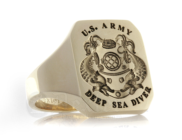 US Army Diver Ring