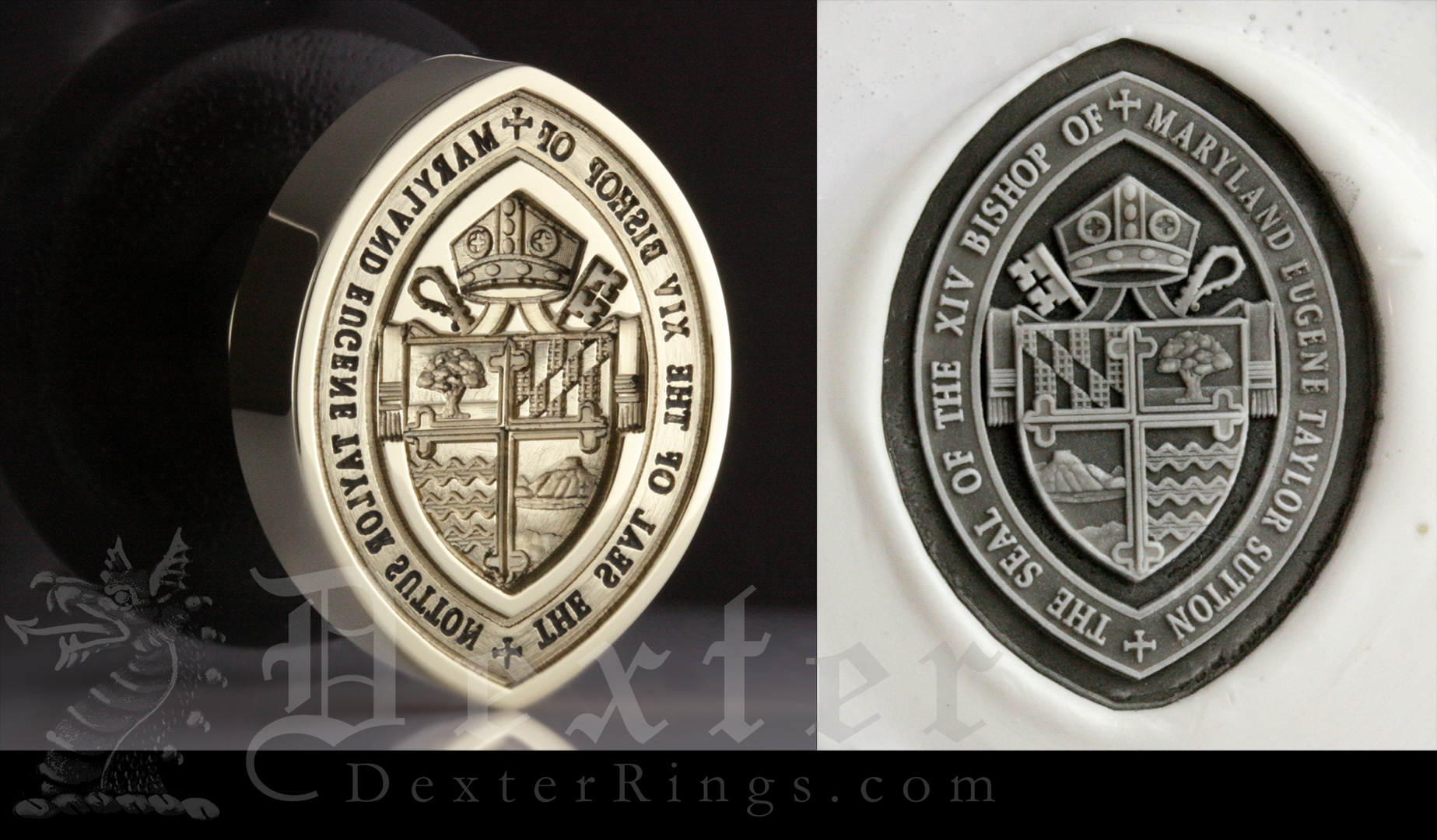 Bishop of Maryland Seal Ring