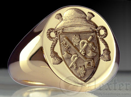 Catholic Priest Ring