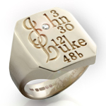 Holy Scripture Ring