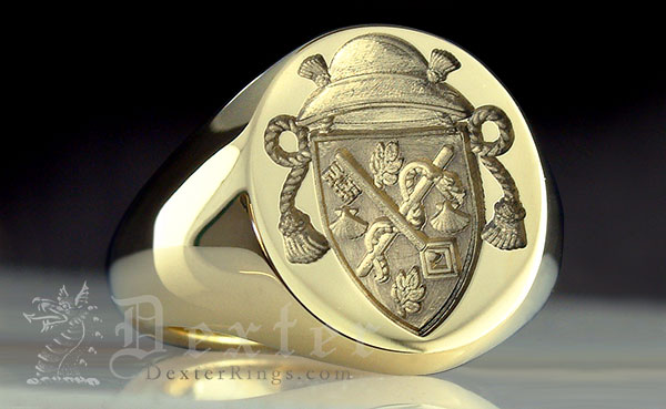 Faith Christian Bishops Rings