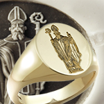 Saint Patrick Ring Apostle of Ireland