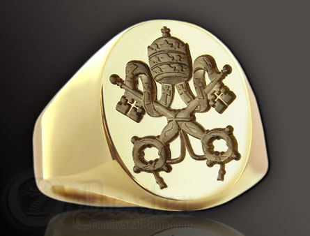 Vatican Seal Ring