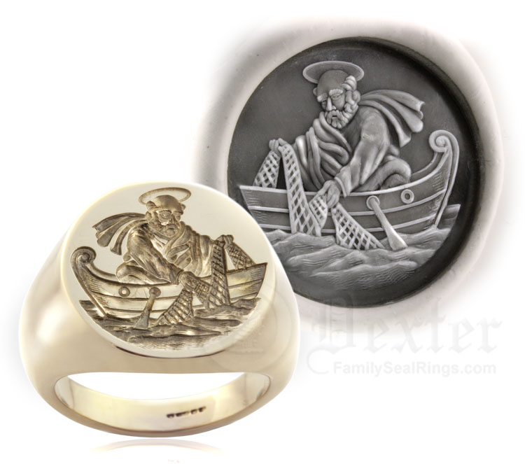 Saint Peter The Fishermans Ring