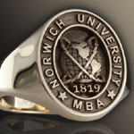 Elevated Engraved Example: Norwich-University