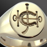 Hong Kong Jockey Club Signet Ring