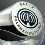 Corporate Emblem / Logo Silver Signet Ring
