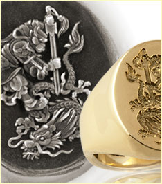 Sun Wukong Monkey King and Chinese Dragon Ring