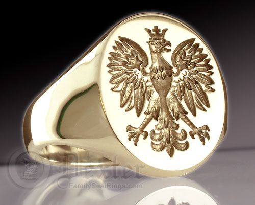 Popular signet rings examples christian fish symbol polish eagle mozeypictures Images
