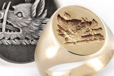 Clan Campbell Crest Ring
