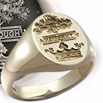 Gents classic signet ring makes a great anniversary gift for yoru husband or gift for the best man