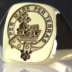 Clan Macdonald of Macdonald Seal Ring