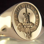 Clan McDowell Seal Ring