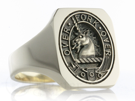 Cunningham Elevated Clan Ring