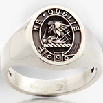 Graham Elevated Clan Badge Ring