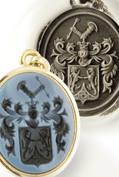Pendant with a Coat-of-Arms