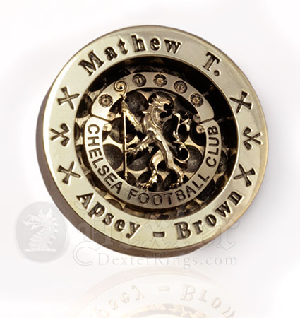 Personalised Chelsea FC Golf Custom Engraved Ball Marker