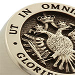Russian Eagle Signet Ring - Elevated Engraved