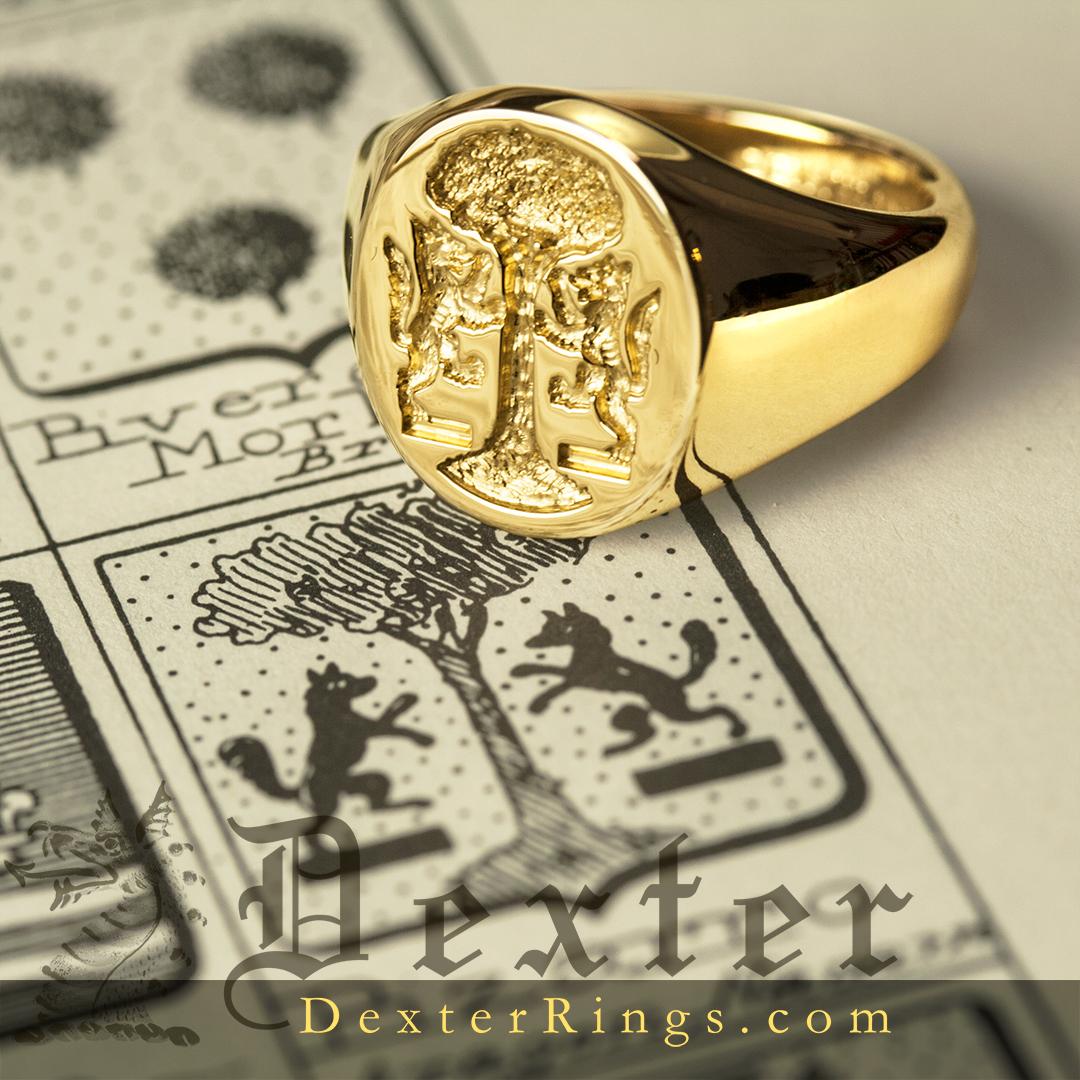 Bespoke Signet Ring Shop Heraldic Engravings