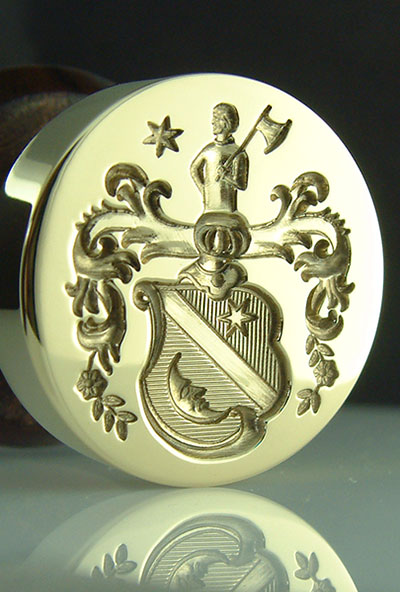 Dutch Coat of Arms Desk Seal Bespoke Arms