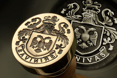 'Plantagenet Style' Coat of Arms from our 'Family Arms Range'