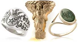Assorted Signet Rings to Buy Today