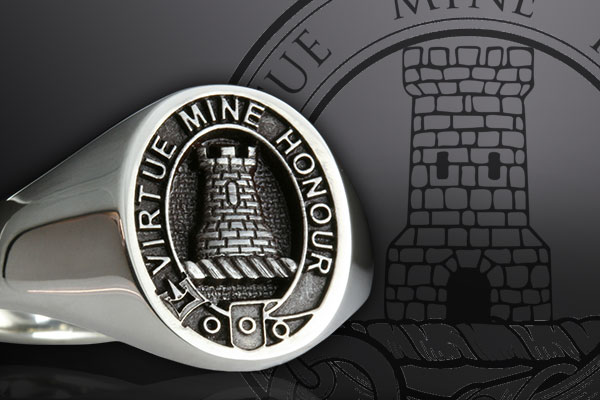 scottish clan rings
