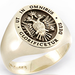 Imperial Eagle in an Elevated Style Signet Ring