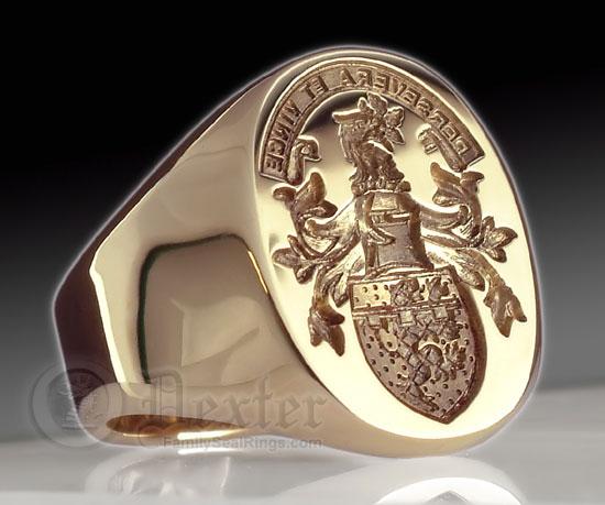 Coat Of Arms Wedding Rings