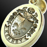 FSR Coat of Arms Engraved Pendant
