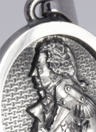 Pendant With Portrait of Admiral Lord Nelson in a Relief (Elevated) Style