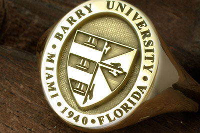 Barry University Miami Florida Signet Ring