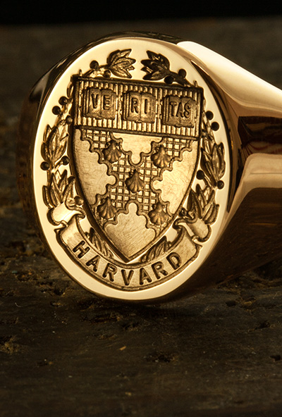 Harvard University Gold Signet Ring