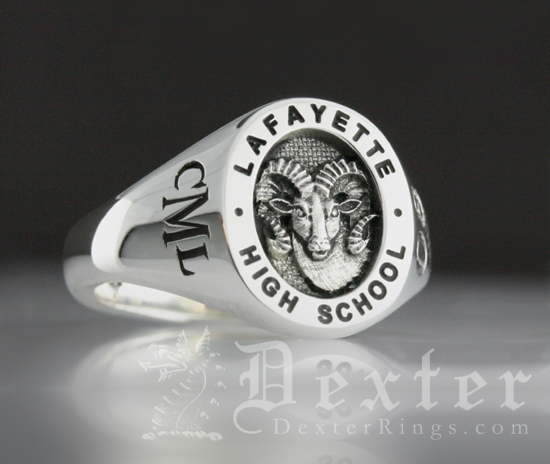 LaFayette High School Signet Ring