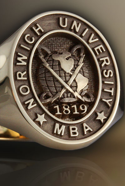 Norwich University Signet Ring