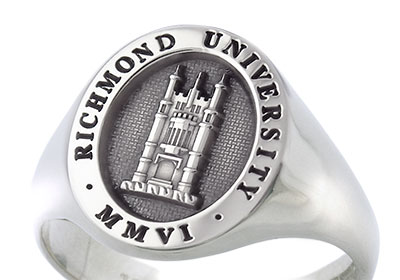 Silver Signet Ring - Richmond University American University in London