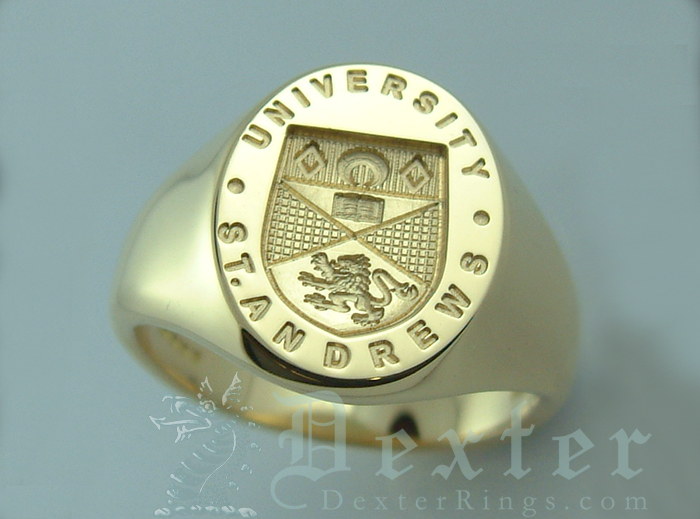 St Andrews University Signet Ring