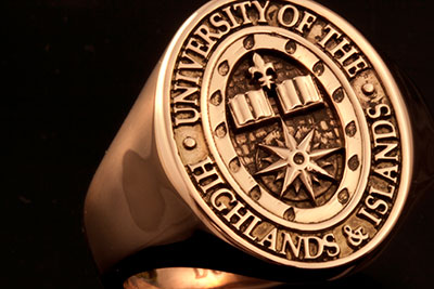 University of Highlands & Islands School College Ring